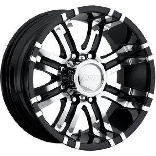 American Eagle 197 18 Super Finish Black Wheel / Rim 5x5.5 with a