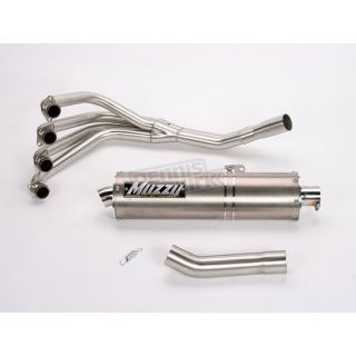 Muzzys High Performance Single Muffler Exhaust System Kawasaki KX600J