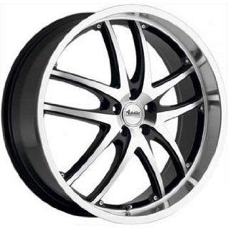 Advanti Racing Maui 20x8.5 Machined Black Wheel / Rim 5x110 with a