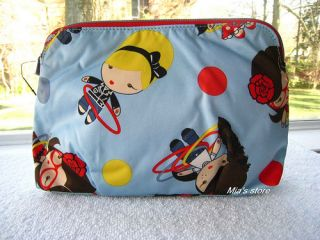 Harajuku Lovers Cherry Bomb Cosmetic Case Bag 50s Girls