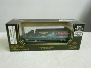 1995 Mike Wallace Ford Semi Tractor Trailer Truck Heilig Meyers
