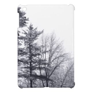 Snow covered Trees Vertical iPad Mini Case