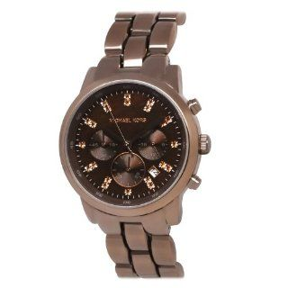 Michael Kors MK5607 Showstopper Chronograph Watch, Espresso Watches