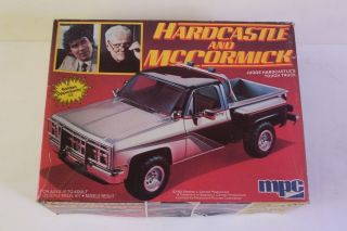 HARDCASTLE & McCormick GMC 4X4 Pickup Truck MPC 125 Model OPENED Vtg