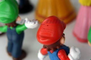 Nintendo Super Mario Bros 17 Figures Toad Peach Daisy