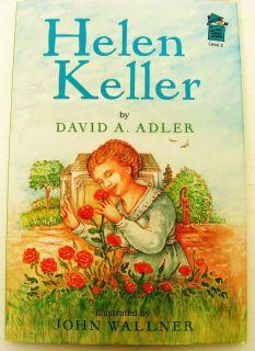 Helen Keller early reader biography Level 2 kids book David Adler easy