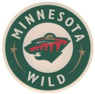 Minnesota Wild NHL Hockey Bumper Sticker 5 x 5