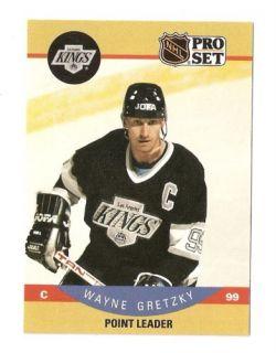 1990 91 Wayne Gretzky Pro Set Hockey Trading Card 394