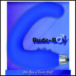 The Blue Rude Boy Prostate Health Massager