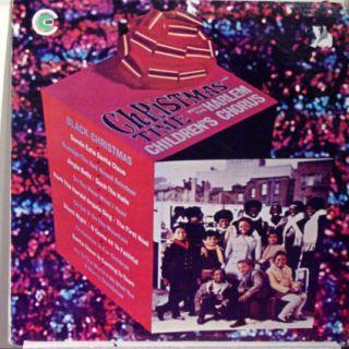 HARLEM CHILDRENS CHORUS christmas time with LP VG+ CU 6003 Vinyl