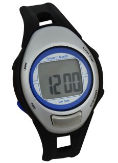 Smart Health Walking Heart Rate Monitor Watch and Pedometer Mid Size
