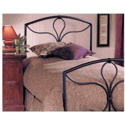 Furniture Morgan Queen Bed Set Headboard Footboard and Rails by