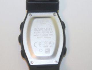 Garmin FR70 Heart Rate Monitor Water Resist Men Sport Wrist Watch