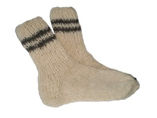 hand knitted 100 % wool socks made in eu high quality hand knit wool