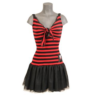Hell Bunny Kleid Riot Dress Black Red S