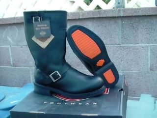 Harley Davidson Men Size 10 w Big Sur New with Box