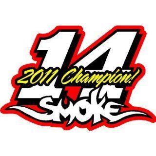 Tony Stewart 14 Smoke Nascar Vinyl Die Cut Decal Sticker 6