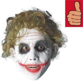 Joker Wig Adult Dark Knight Heath Ledger Movie Style The Bat Man
