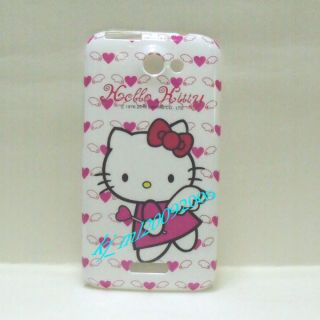 For HTC One x Hello Kitty Phone Case A Clean Screen Protector
