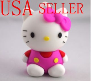 Hello Kitty 16GB USB Memory Stick Flash Drive Keychain
