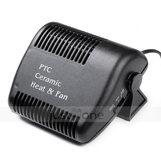 12V Car Heater Heating Cooling Fan Defroster Windowscreen Demister Hot