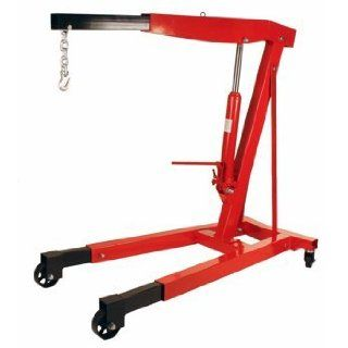 Premium Steel 3 Ton 6000 LB Heavy Duty Engine Hoist Cherry