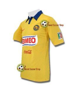 online store 0b1eb 9bf88 Authentic Nike Club America Mexico Soccer Futbol Goal ...