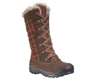Womens Earthkeepers® Mount Holly Tall WP Faux Fur Boot   Timberland