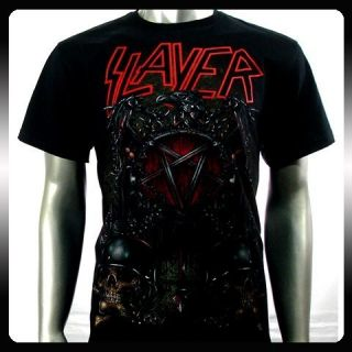 Slayer Heavy Metal Rock Punk Band Music T Shirt Sz XL