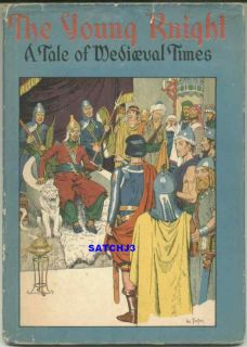 1945 Hal Foster Prince Valiant Young Knight RARE Book Hardcover w Dust
