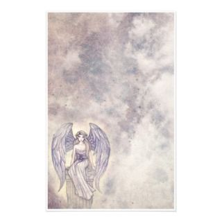 Beautiful Mystic Angel Stationary Personalized Stationery