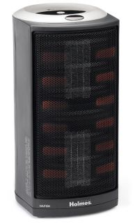 New Holmes Ultra Quiet Dual Ceramic Heater with 1 Touch Electronic