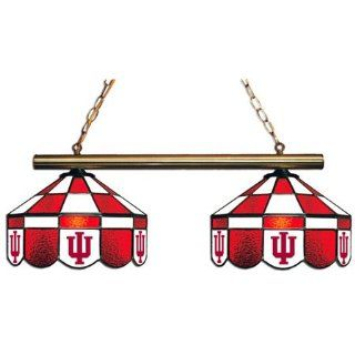 Indiana University Pool Table Light   2 Lamp Executive