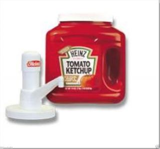 HEINZ BRAND KETCHUP PUMP FOOD CART, CATERING, VENDING FOR MOST 114 OZ