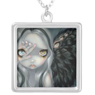 Divine Hand NECKLACE gothic angel fairy