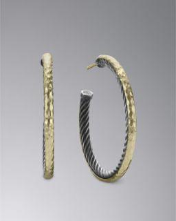 Kenneth Jay Lane Gold & Crystal Earrings