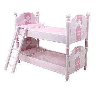 : 18 Inch Doll Bunk Bed, Doll Bedding & Ladder Doll Furniture for 18