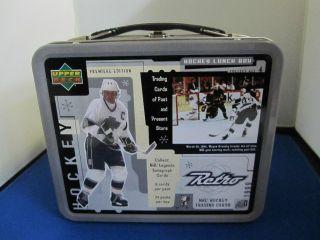 Wayne Gretzky Upper Deck Retro Lunch Box Los Angeles Kings Jersey Mint