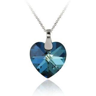 Swarovski Elements Heart Pendant Necklace, 18 Jewelry