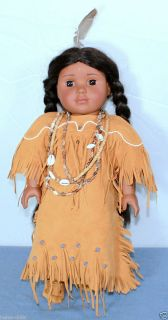 Kaya in Original Dress Indian Doll Long Strings American Girl Doll Co