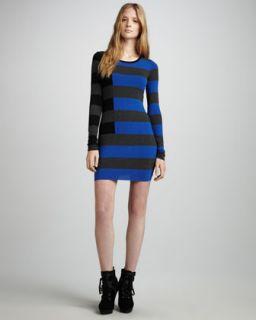 Bailey 44 Striped Jersey Dress