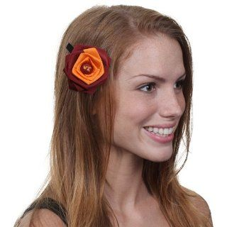 Dayna U Virginia Tech Hokies Ladies Rosette Hair Clip