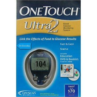 One Touch Ultra 2 Blood Glucose Monitoring System Health