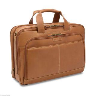 Hartmann Luggage Belting Leather Double Gusset Expandable Laptop