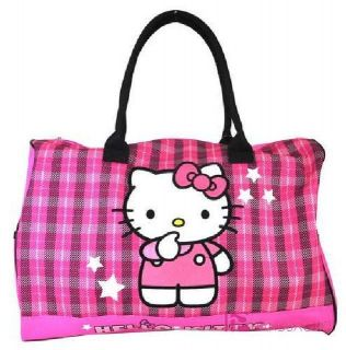 Licensed Hello Kitty Fashion Duffle Bag Travel Gym Bag 20 Large