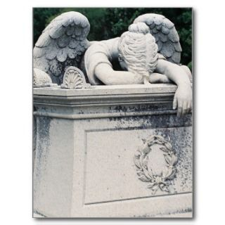 Weeping Angel Postcard
