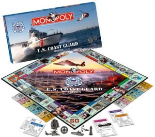 New Out of Print Monopoly U s Coast Guard Edition 2007 Hasbro USAopoly