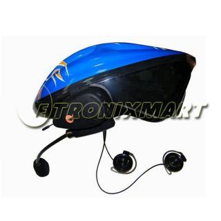 Twins Bluetooth BT Motorcycle Helmet Headset Intercom 2