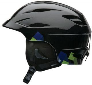 Giro Seam Black Towers Ski Snowboard Helmet Snow Adult