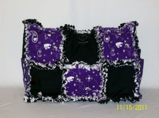KSU K State Purple Rag Quilt Diaper Bag Tote Purse Great Gift Idea